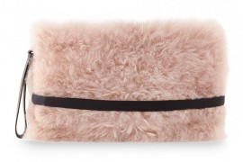 Bag of the Week: Brunello Cucinelli Cashmere Fur Clutch
