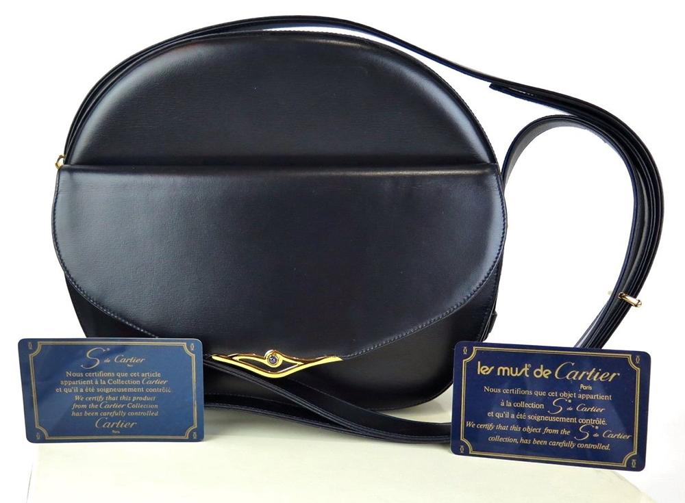 Cartier S de Cartier Shoulder Bag