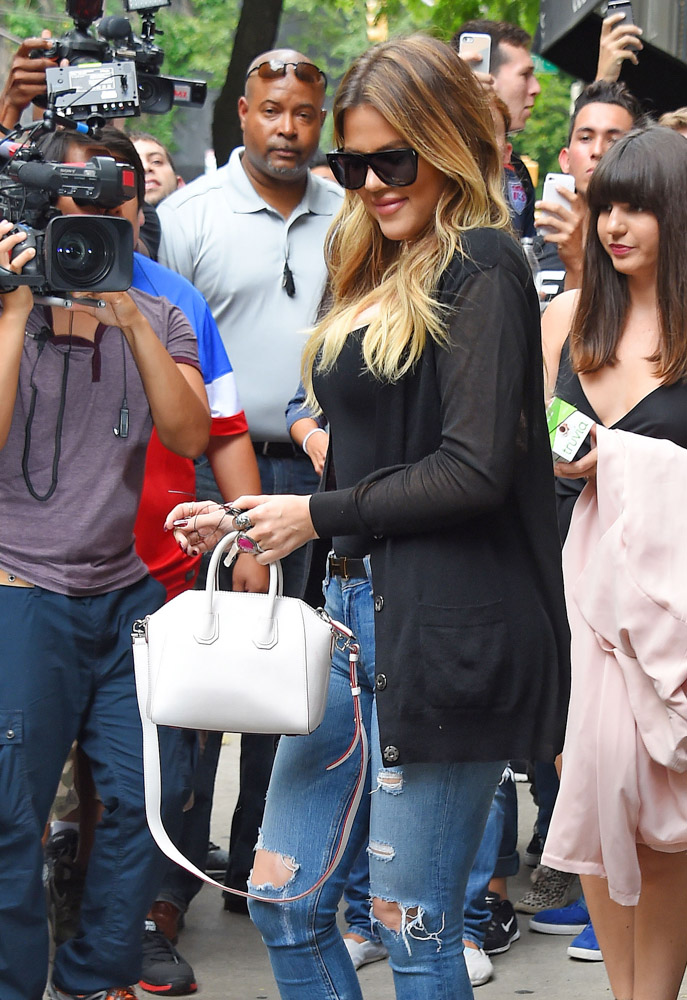 Celebrities Carrying Givenchy Antigona Bags-24