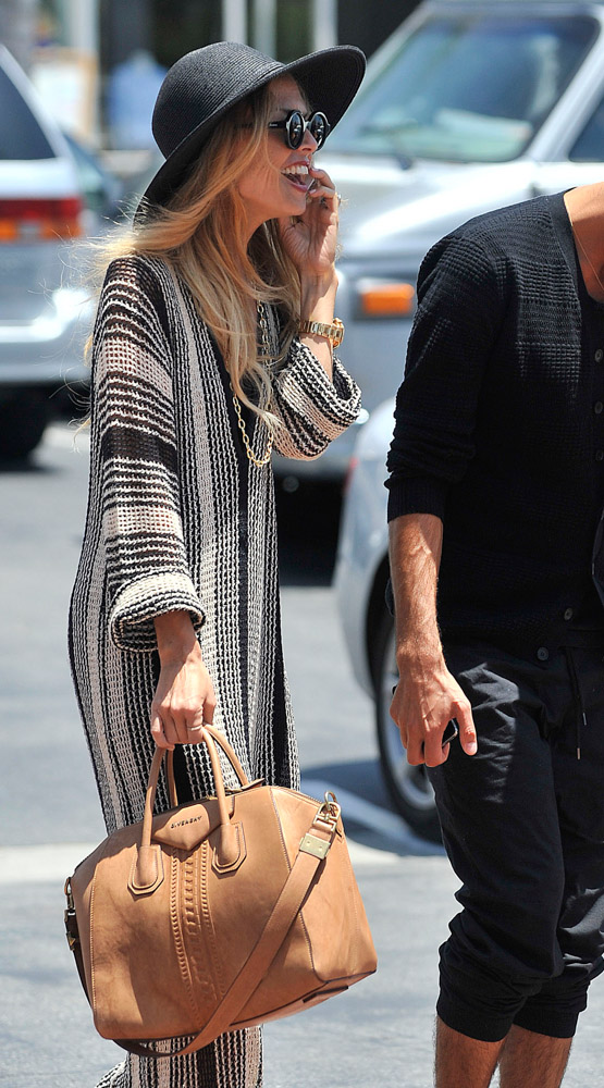 Celebrities Carrying Givenchy Antigona Bags-3
