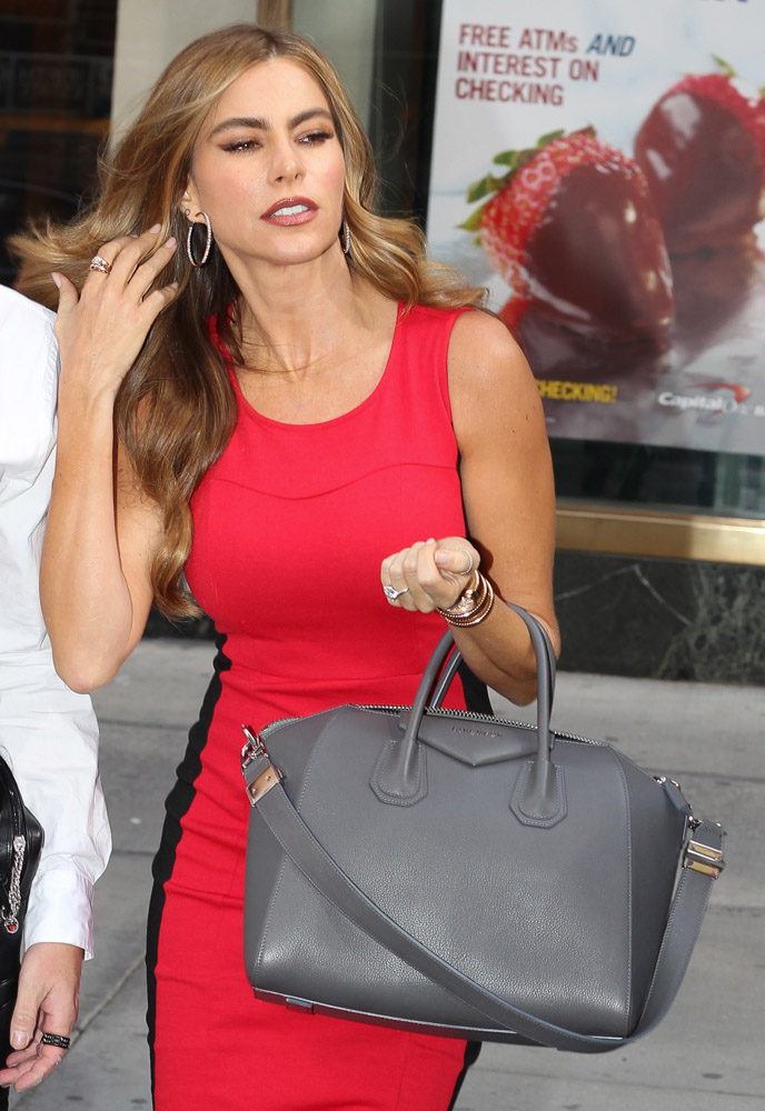 Celebrities Carrying Givenchy Antigona Bags-9