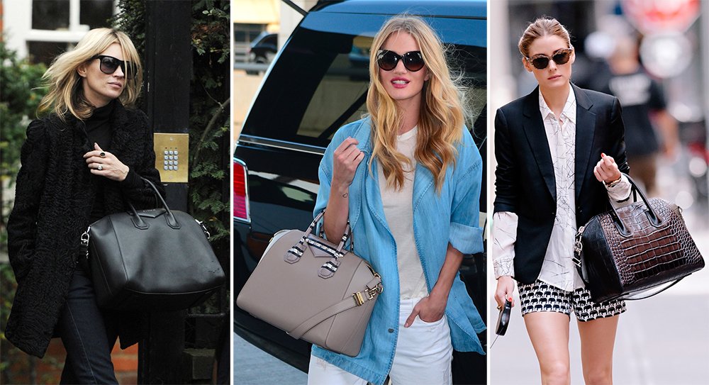 Celebrities Carrying Givenchy Antigona Bags