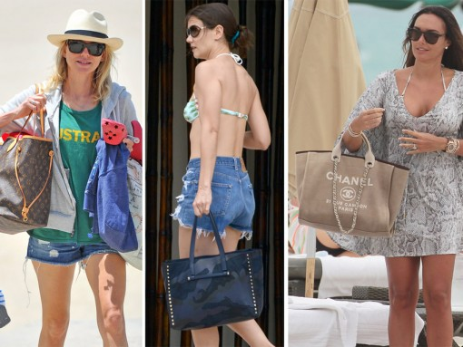 Check Out What Your Favorite Stars Carry to the Beach