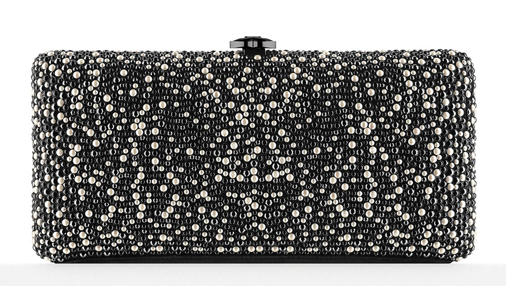 Chanel Pearl Embroidered Minaudiere