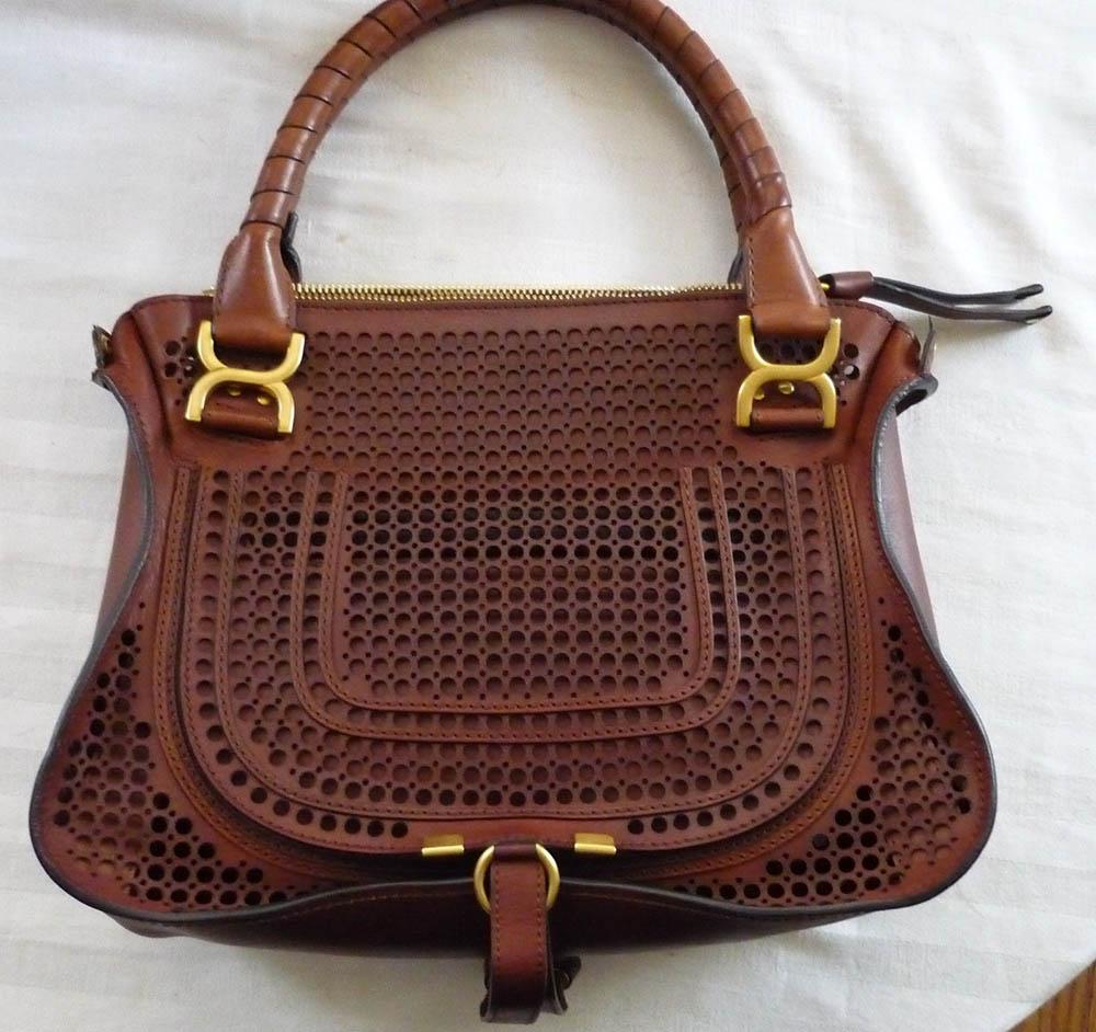 Chloe Marcie Perforated Bag