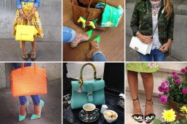 Instagram Handbag Celebrity: @fashionistaac