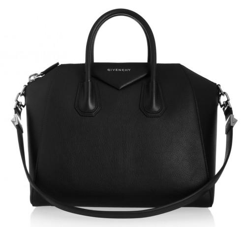 Givenchy Antigona in Black Leather