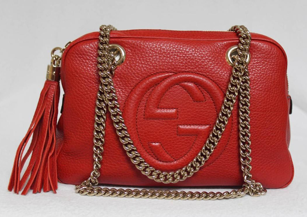 Gucci Soho Chain Satchel