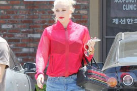 Gwen Stefani Carries Christian Louboutin Spikes to the Acupuncturist