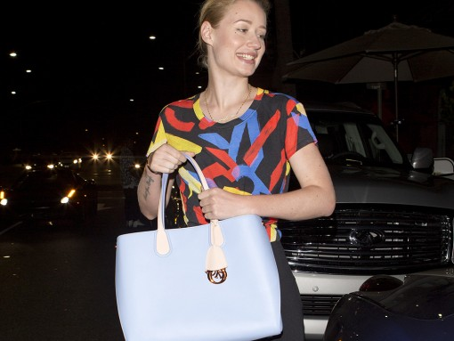 Iggy Azalea Goes Out to Dinner with Dior in Tow