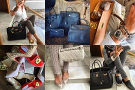 Instagram Handbag Celebrity: @mjsicilia