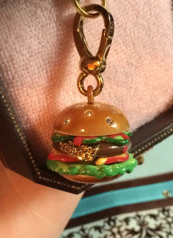 Juicy Couture Burger Charm