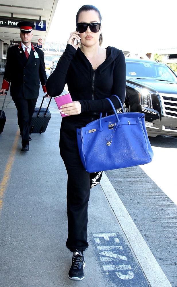 Khloe Kardashian Hermes Birkin-2