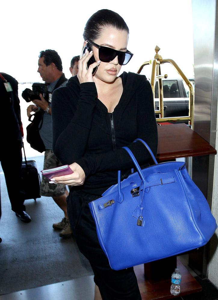 Khloe Kardashian Hermes Birkin-4