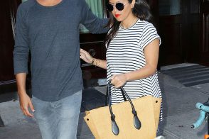 Kourtney Kardashian is Back in NYC, Carrying a Celine Tote