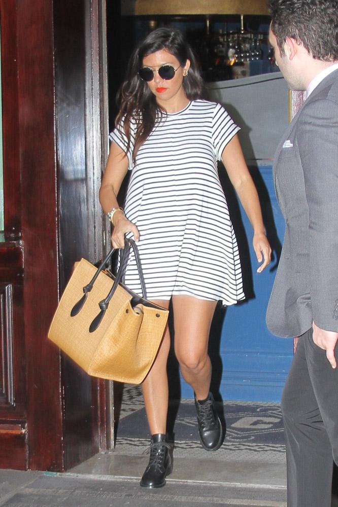 Kourtney Kardashian Celine Tie Tote-4
