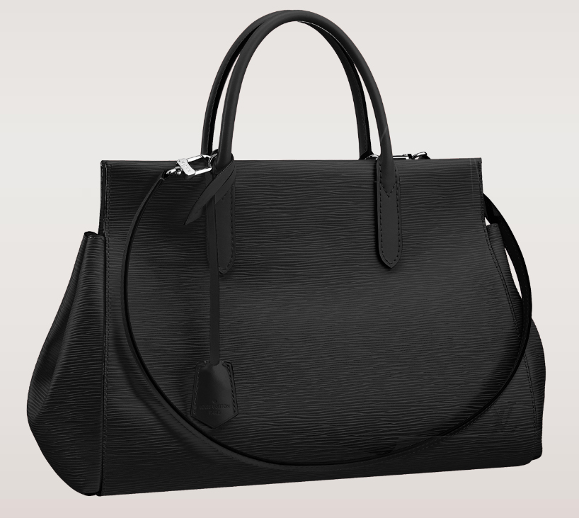 Louis Vuitton Marly MM Black