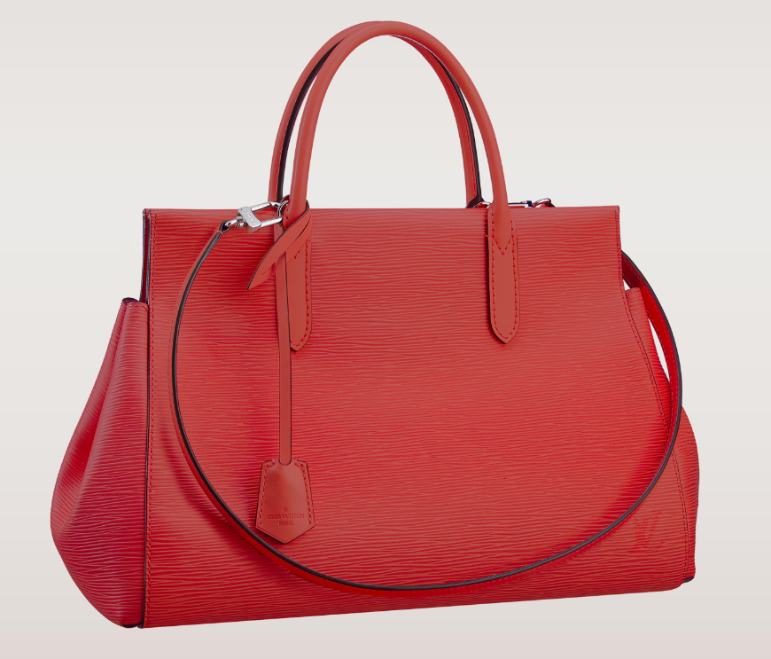 Louis Vuitton Marly MM Coquelicot