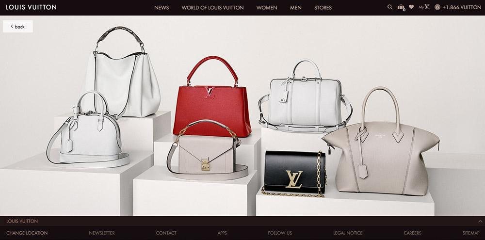 Louis Vuitton New Website 3