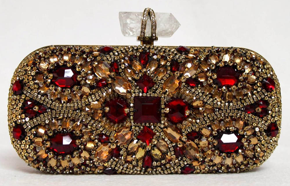 Marchesa Lily Crystal Clutch