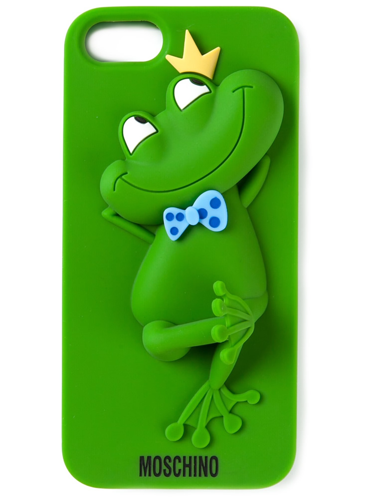 Moschino Frog iPhone Case