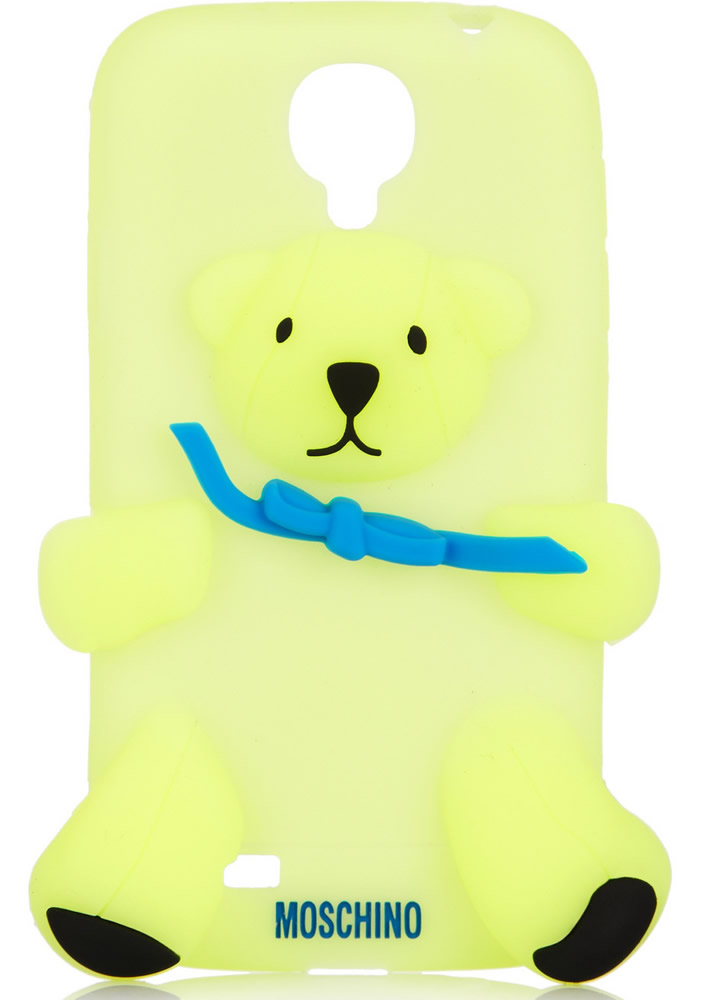 Moschino Gennarino Bear Glow-in-the-dark Samsung Galaxy S4 Cover