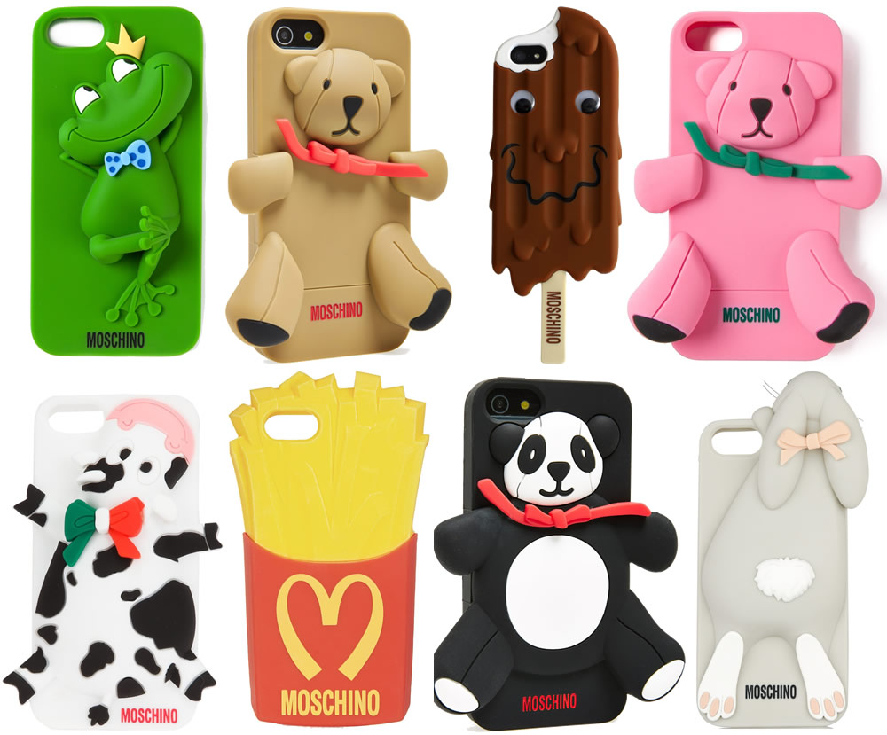 wholesale dealer 319a1 e2cc6 The Amazing, Wacky Moschino iPhone Cases - PurseBlog