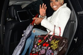Nene Leakes' Birkin is Covered in Real Housewives Catchphrases
