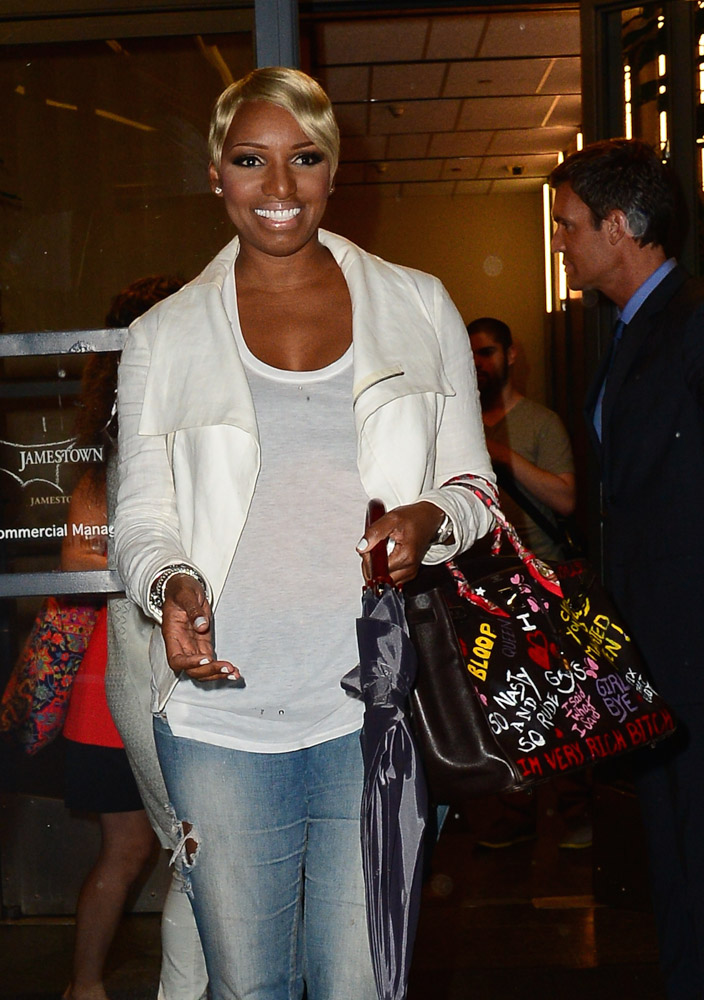 Nene Leakes Hermes Birkin with Graffiti-3