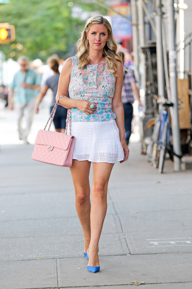 Nicky Hilton Chanel Flap Bag-2