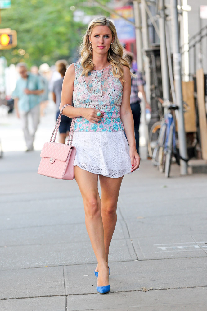 Nicky Hilton Chanel Flap Bag-3