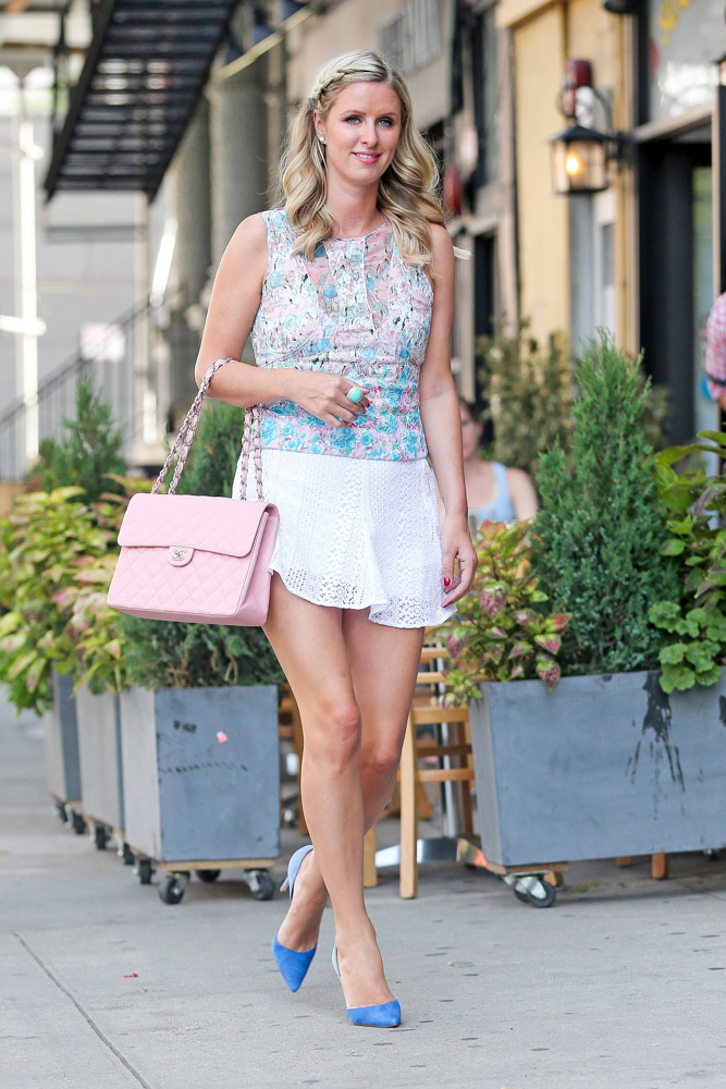 Nicky Hilton Chanel Flap Bag-4