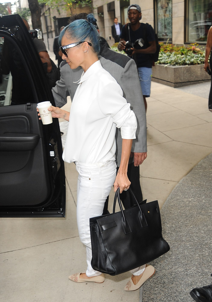Nicole Richie Saint Laurent Sac de Jour Bag-1