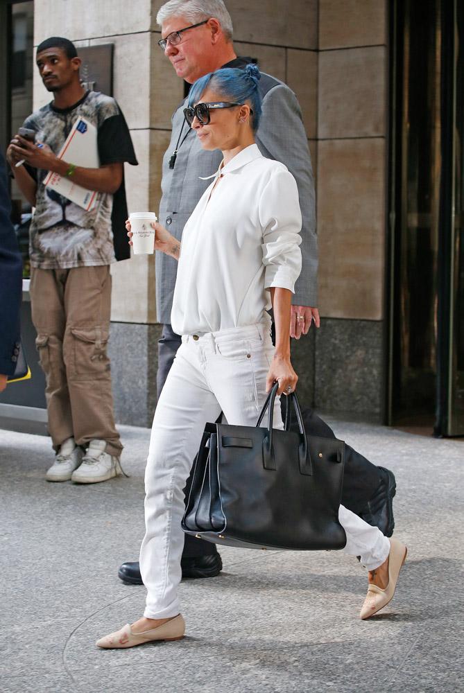 Nicole Richie Saint Laurent Sac De Jour Bag 2