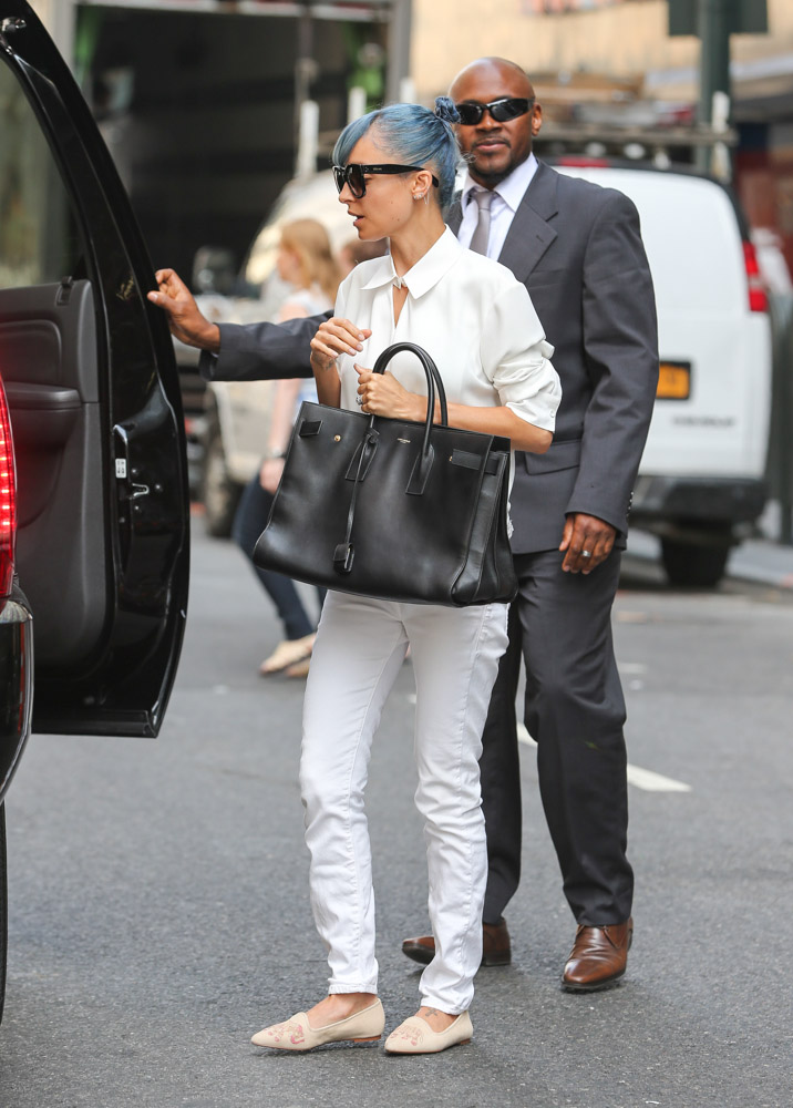 Nicole Richie Saint Laurent Sac de Jour Bag-3