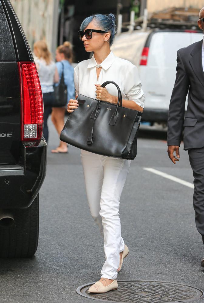Nicole Richie Saint Laurent Sac De Jour Bag 4