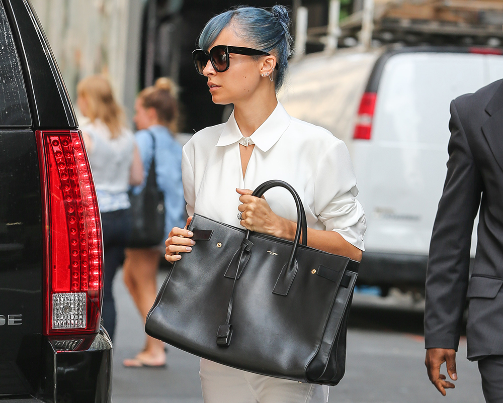 Nicole Richie Saint Laurent Sac de Jour Bag