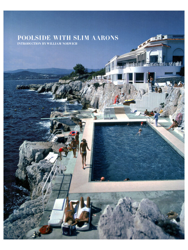 Poolside with Slim Aarons Coffee Table Book