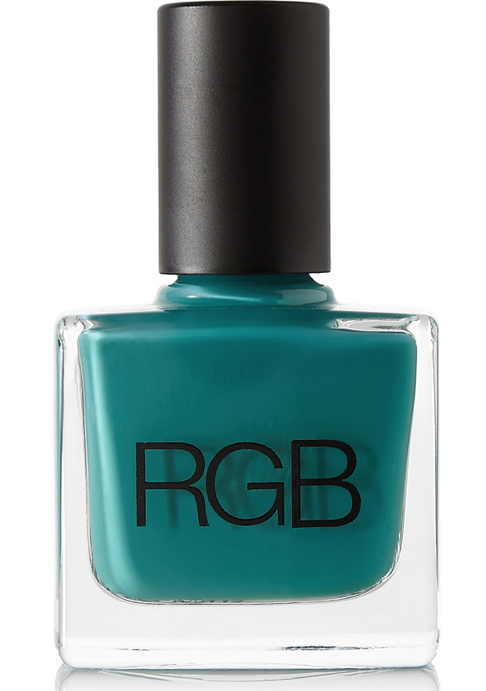 RGB Peacock Nail Polish