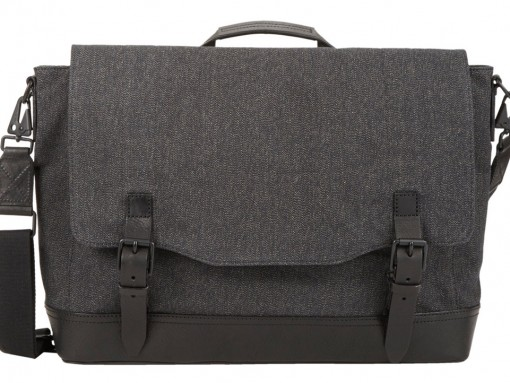 Rag and Bone Canvas Herringbone Messenger Bag