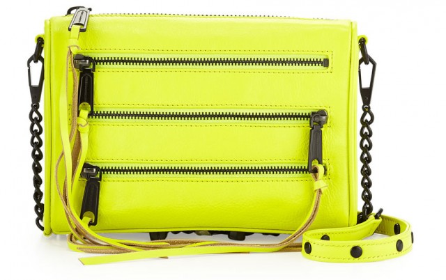 Rebecca Minkoff Five-Zip Mini Crossbody Bag