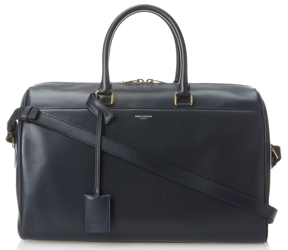 Saint Laurent Duffle SL 12 Bag in Marine