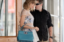 Taylor Swift Does Her Daily NYC Rounds with a Bulgari Bag