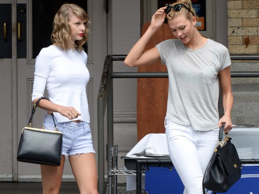 Taylor Swift and Karlie Kloss Hang Out with Their Dolce & Gabbana Bags