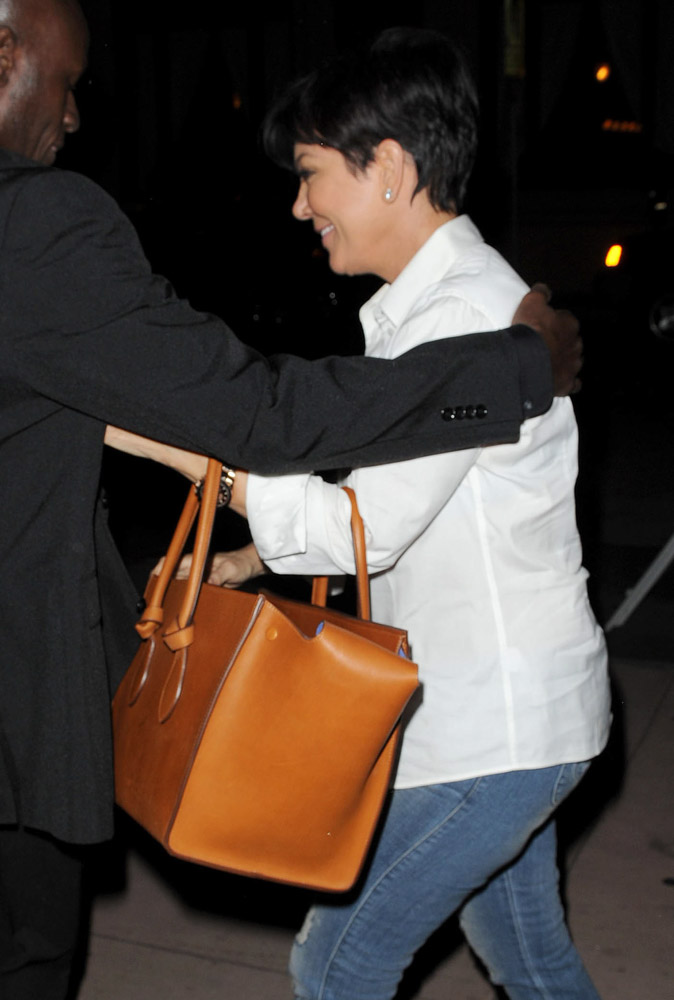 the celine bag - The Many Bags of Kris Jenner - PurseBlog