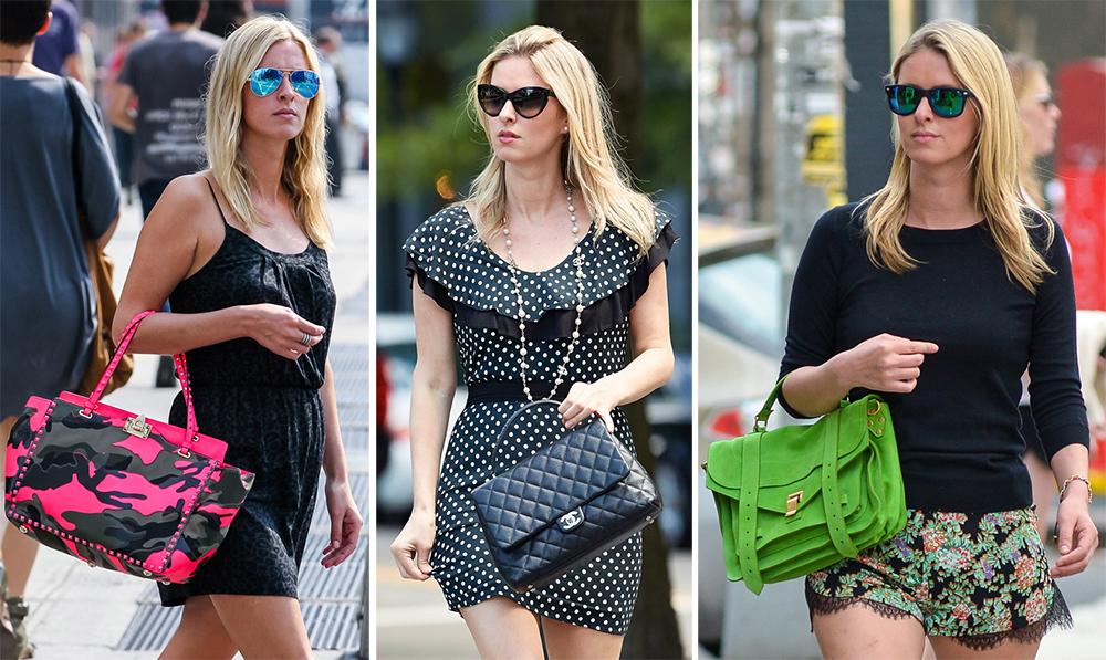 867e23785f7f The Many Bags of Nicky Hilton