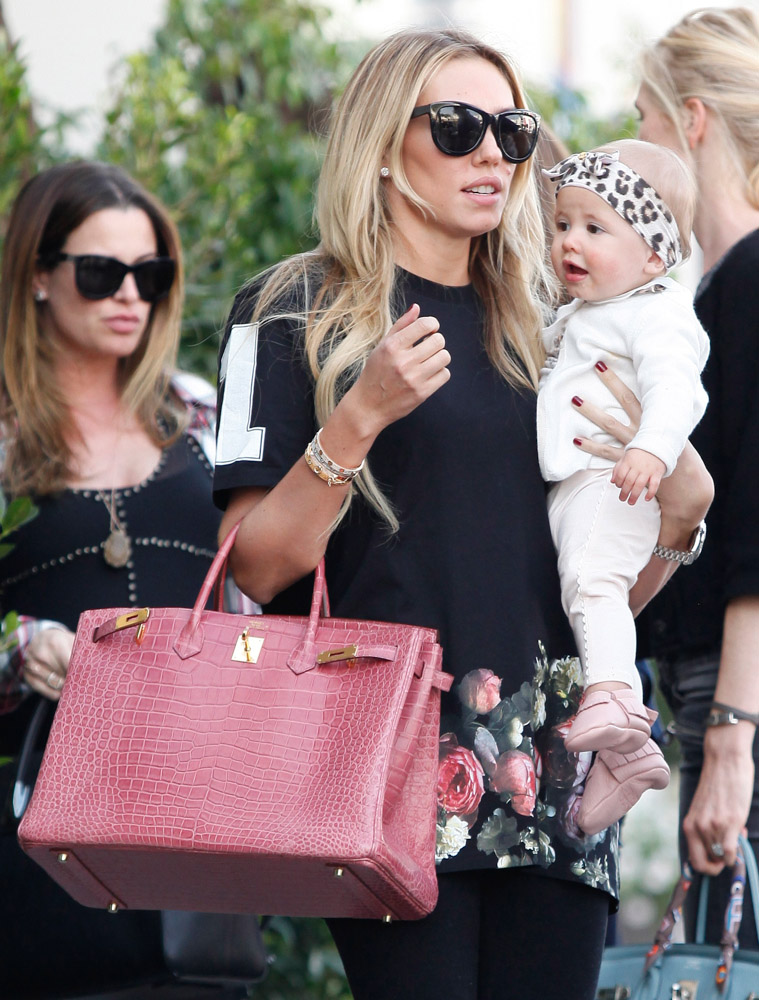 The Many Bags of Petra and Tamara Ecclestone-37