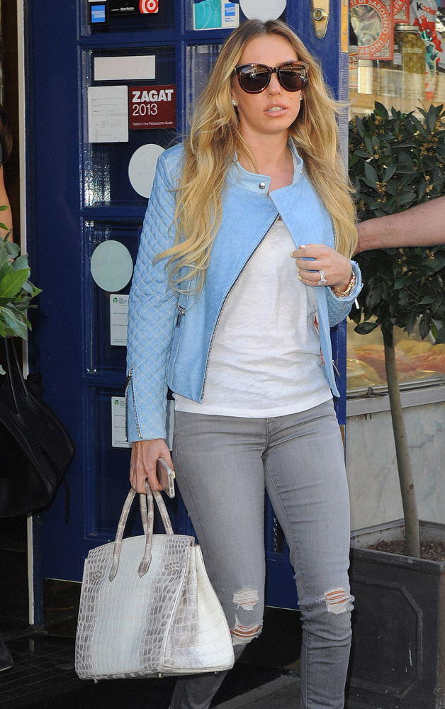 knock off hermes - The Many Bags of Petra and Tamara Ecclestone - PurseBlog
