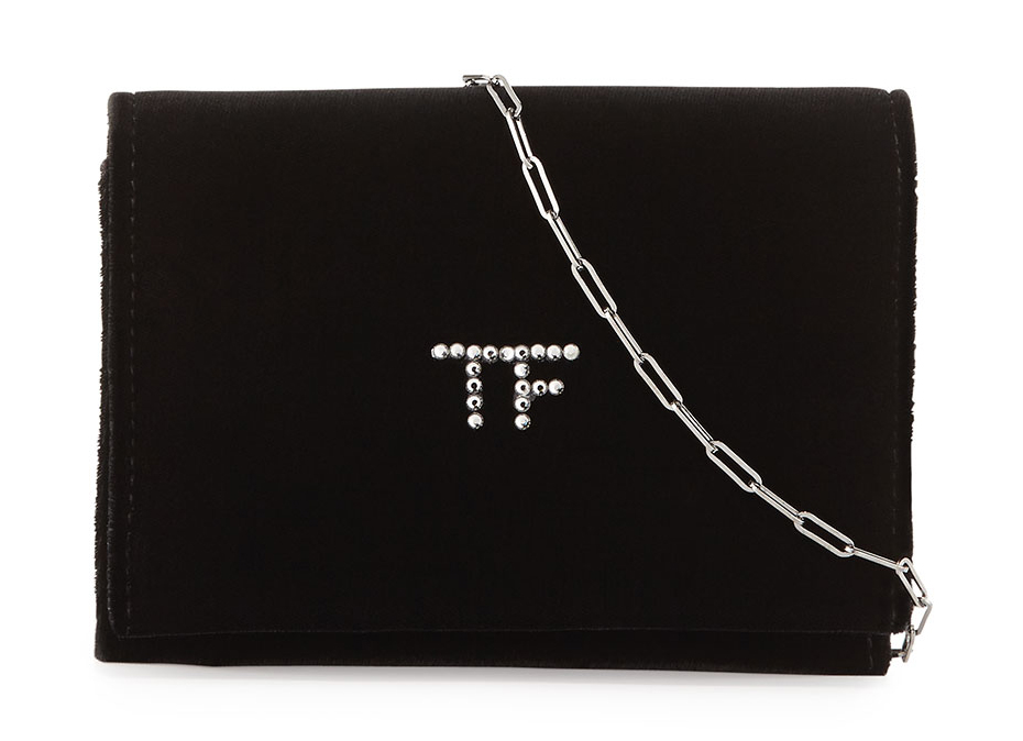 Tom Ford TF Velvet Chain Crossbody Bag