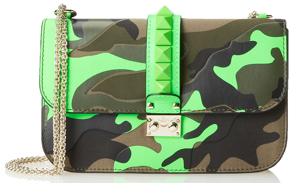 Valentino Camo Cross-Body Bag